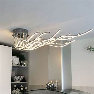 Deckenleuchten Spots Ideen : sculli design led deckenleuchte mit metallarmen 11514 ~ Markanthonyermac.com Haus und Dekorationen