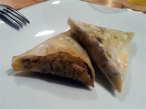 samoussas au bœuf recette de la pate 224 beignets