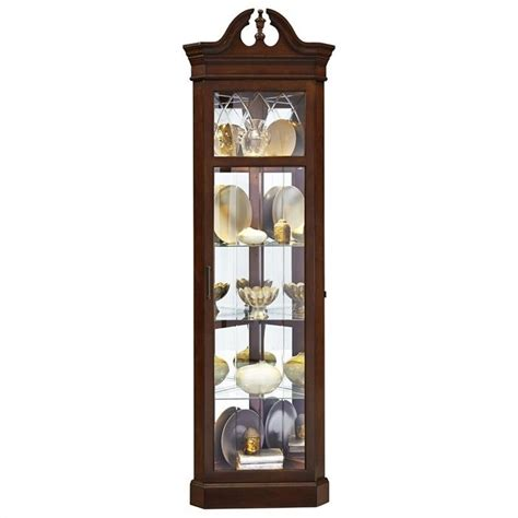 pulaski corner wood curio cabinet ebay