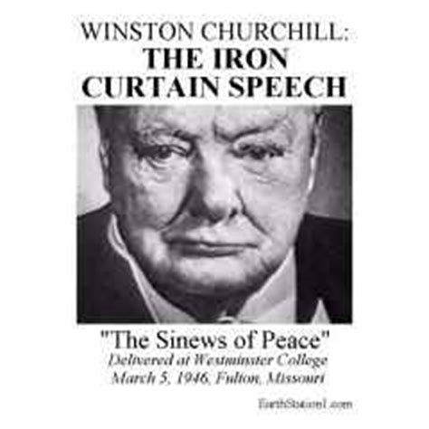 the iron curtain speech occurred on march 5 1946 winsto thinglink