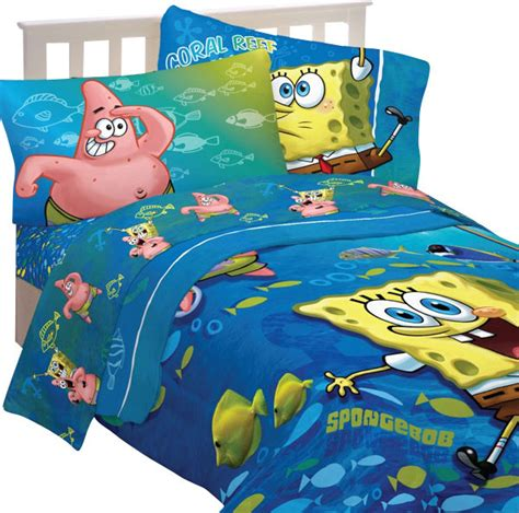 spongebob squarepants bedding fish swirl comforter sheets contemporary bedding by