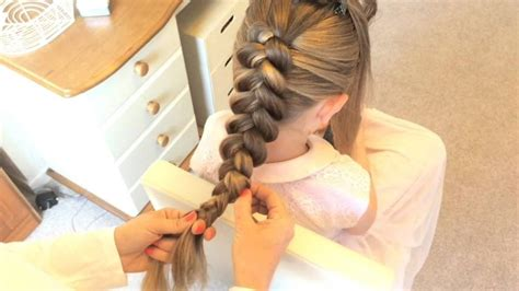 Stacked Dutch Braid With Fishtail By Sweethearts Hair Design Hairstyles With Loose Deep Weave Up For Gymnastics Hair Styles Pony Braid New Tutorials Videos Tutorial We Heart It To Do Your Real Bridesmaid Makeup And Hairstyle Show Off Ombre