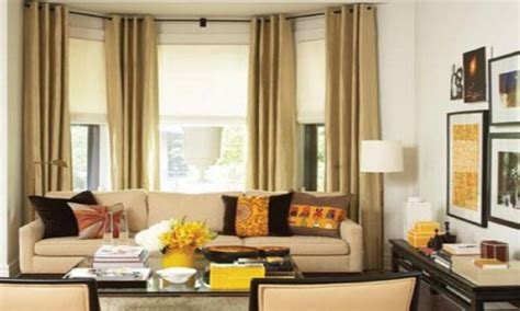bay window decorating living room modern house