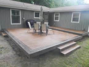 outdoor garden best trex composite decking installation picture all about trex composite