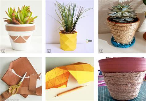 diy customiser des pots de fleurs en terre bnbstaging le