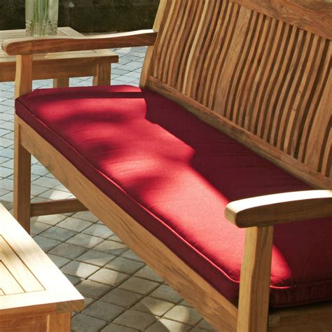 6 ft sunbrella outdoor garden bench cushion replacement