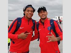 PSG duo Kylian Mbappe and Neymar jet off to Metz Daily