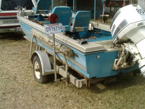 Old Bass Boat by Ranger Bass Boat Motor N Trailer Boats Fishing And