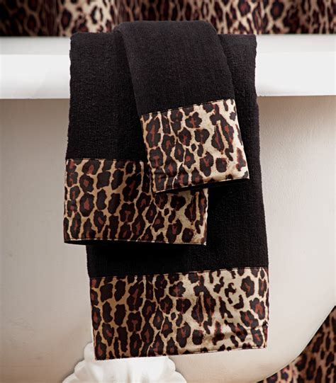 leopard print bathroom set photos and products ideas