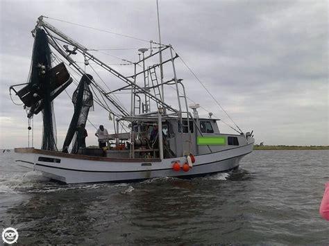 Shrimp Boat For Sale Texas by 1981 Used Glass Bay 42 Shrimp Boat Commercial Boat For