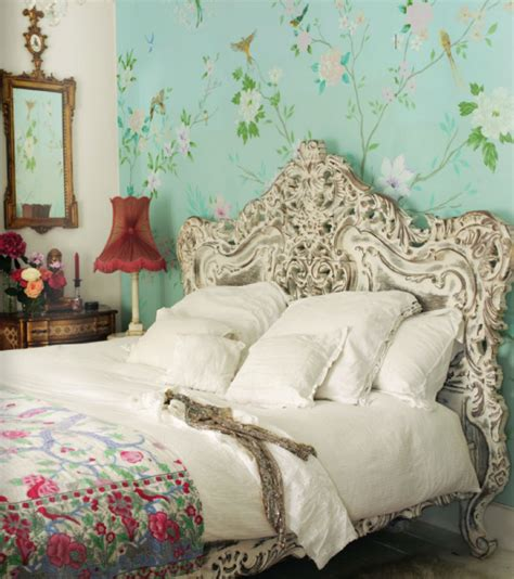 shabby chic bedroom bohemian home