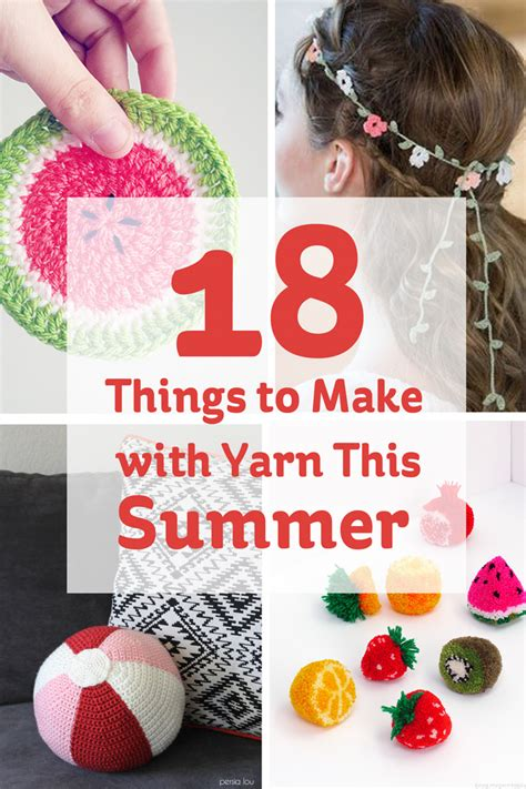 18 Things To Make With Yarn This Summer  Hobbycraft Blog