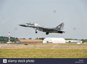 Mikoyan MiG-29 of the Polish Air Force Air Superiority ...