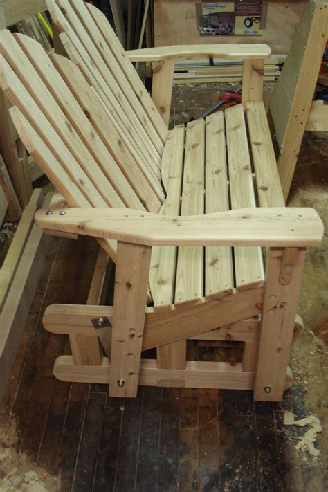 woodworking swivel glider adirondack chair plans plans pdf