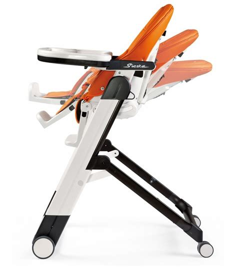 peg perego siesta high chair arancia orange