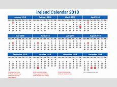 2018 calendar ireland 2017 1 Free Download Happy New