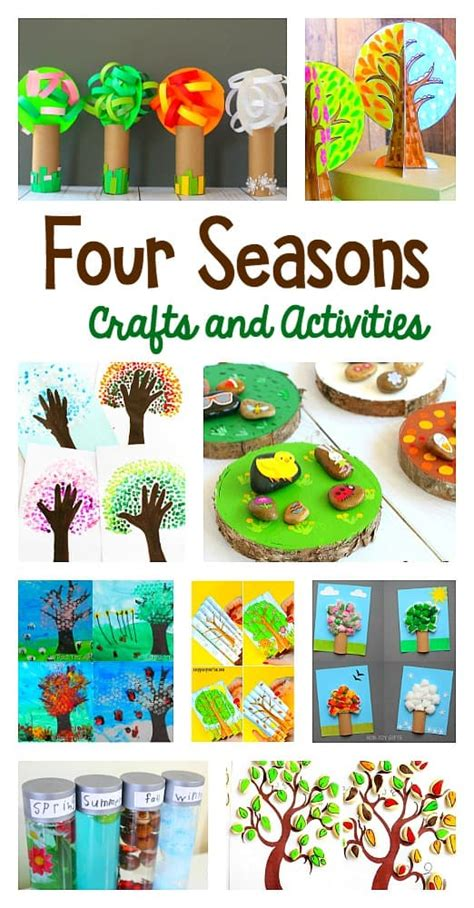 15 Of The Cutest Four Seasons Crafts And Activities For