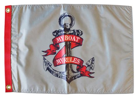 Boat Flags Rules by My Boat My Rules Flag Flagline
