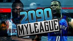 NBA 2K17 MY LEAGUE: YEAR 2090!! NEW MICHAEL JORDAN ...