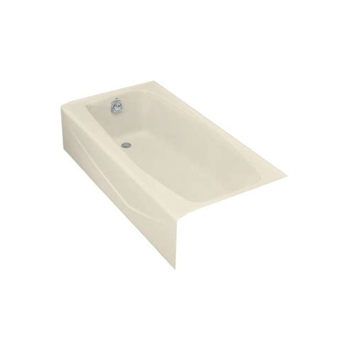 Kohler Villager Bathtub Drain by Kohler Villager 5 Ft Left Drain Cast Iron Bathtub In