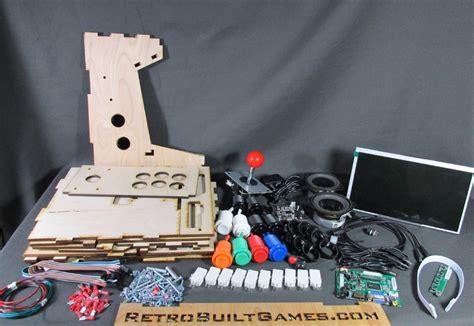 diy arcade cabinet kits more porta pi arcade 10 quot hd