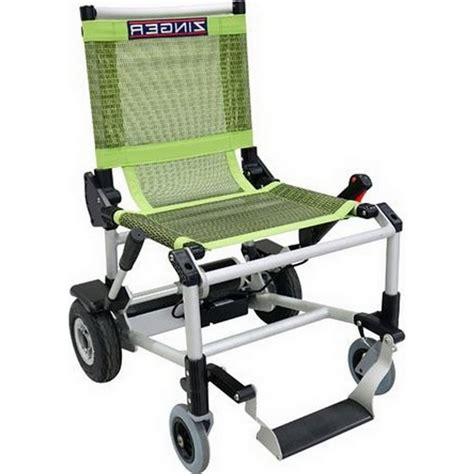 fauteuil roulant 233 lectrique et pliable zinger tous ergo