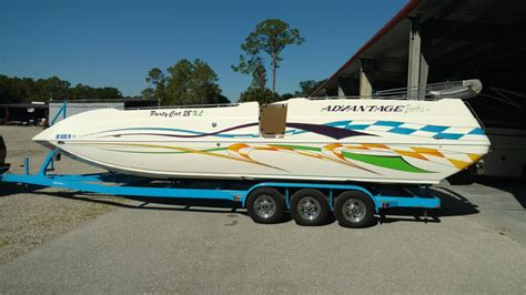 Party Cat Boat by Advantage Boats Party Cat Boats For Sale