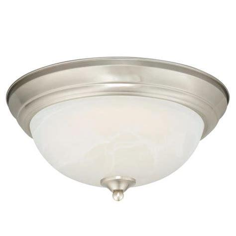 payton led 15 quot satin nickel ceiling light at menards 174