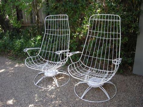 mid century homecrest swivel rockers homecrest patio furniture rockers and mid