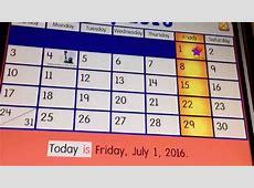Starfall Calendar 2018 calendar printable