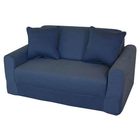 sofa sleeper in denim dcg stores