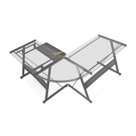 realspace broadstreet contoured u shaped desk realspace