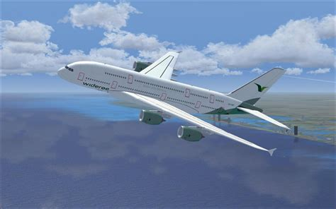 Wideroe Airbus A380 for FSX