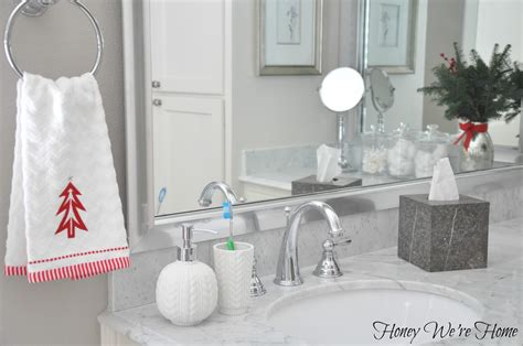 Target Holiday Accessories In The Bathroom