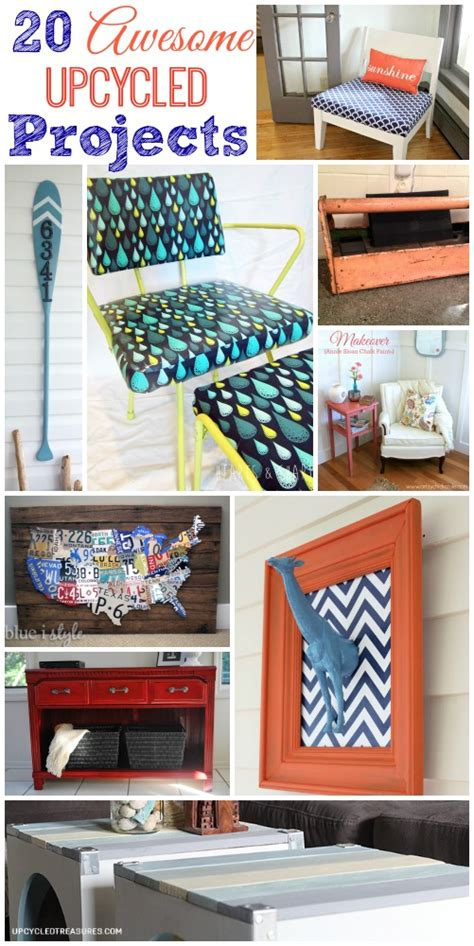 20 Awesome Upcycled Projects  The Happy Housie