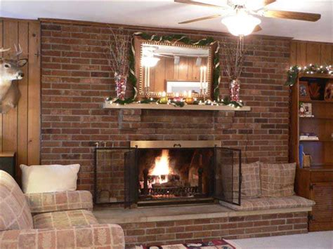 Brick Wall Fireplace, Brick Fireplace Mantel Decorating Backyard Ponds Pictures Safari Adventures How To Light Up A Party Bbq Brownsville Tn Casting Best Trees Bobbers Level Your