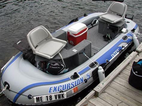 custom modular intex excursion 5 boat