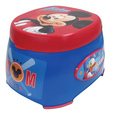Mickey Mouse Potty Seat And Step Stool by Mickey Mouse 3in1 Potty Trainer Potty Concepts