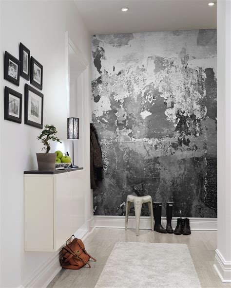 rebel walls charcoal mural