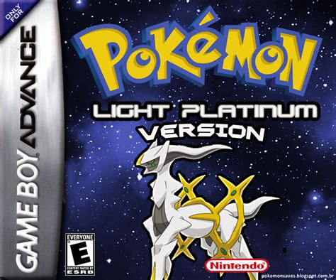 Pokémon Light Platinum Gba Ptbr  Pokemon Saves