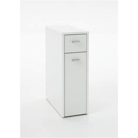 denia meuble de salle de bain l 20 cm blanc achat vente colonne armoire wc denia meuble
