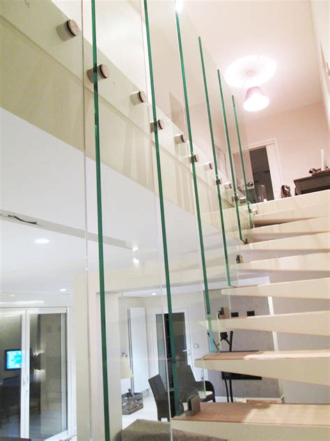 garde corps verre escalier verre righetti