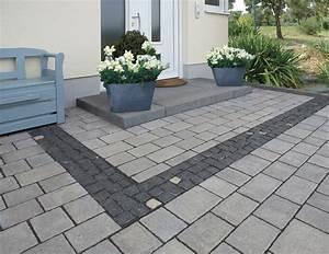 Hauseingang Pflastern Ideen : pflastersteine la strada von rinn betonsteine und natursteine pflaster pinterest ~ Markanthonyermac.com Haus und Dekorationen
