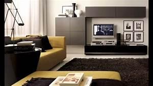 Moderne Wohnzimmer Schrankwand : moderne wohnzimmer ideen youtube ~ Markanthonyermac.com Haus und Dekorationen