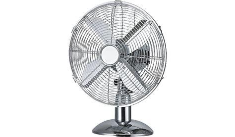 oscillating 10 inch chrome desk fan home garden