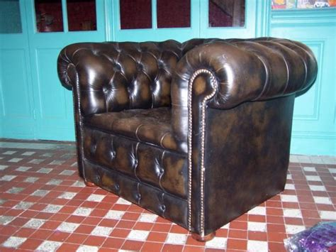 fauteuil chesterfield occasion 100 images fauteuil chesterfield cuir amenager incroyable