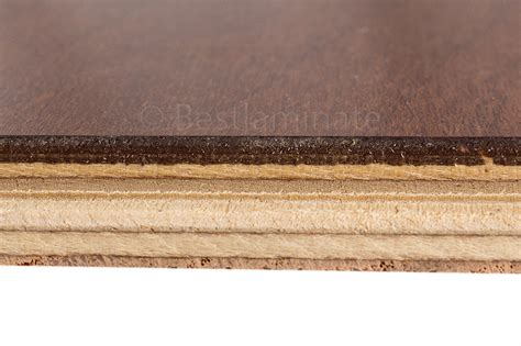 is there formaldehyde in engineered hardwood