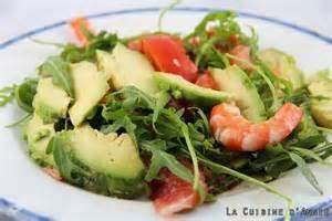 recette salade d avocats plemousses crevettes la cuisine familiale un plat une recette