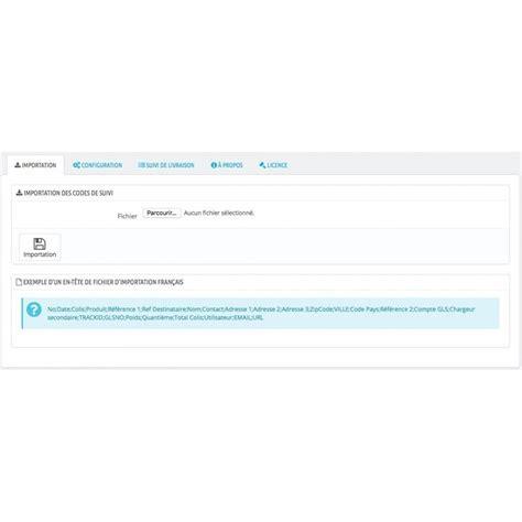 gls numero de suivi et statut automatique prestashop addons