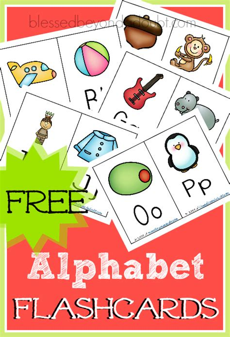 Abc Flashcards! They're Free